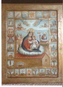 Madonna di Loreto con litanie