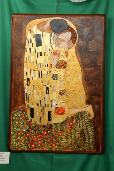 liberamente tratto da il bacio di Klimt
