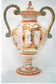vaso con decori di Palazzo del Duca - Senigallia