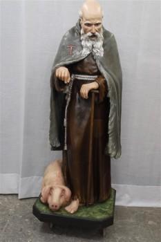 restauro della statua finito