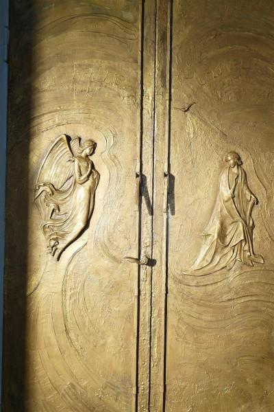 porta bronzo