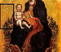 madonna-con-bambino-di-gentile-perugia- da Giotto a Gentile